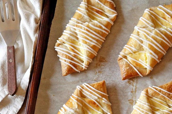 Homemade Cream Cheese Danishes
